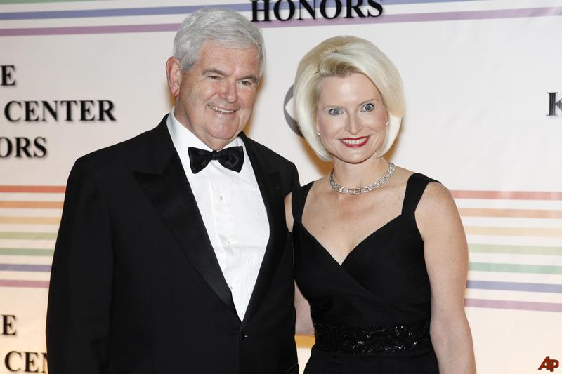 newt gingrich wives photos. Newt Gingrich: Gumshoe#39;s take